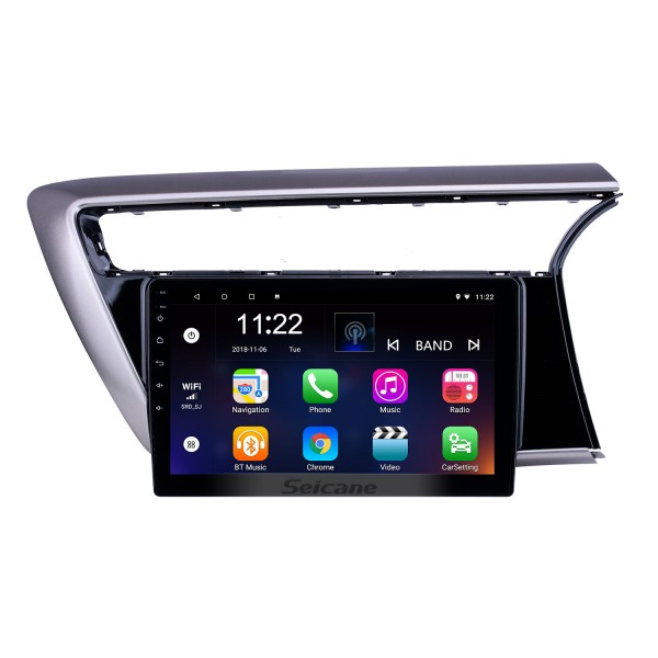 10.1 inch Android 10.0 GPS Navigation Radio for 2018 Proton Myvi With HD Touchscreen Bluetooth support Carplay TPMS Digital TV