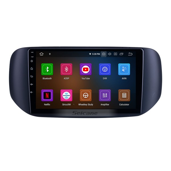 OEM 9 inch Android 10.0 for 2018 Tata Hexa RHD Radio with Bluetooth HD Touchscreen GPS Navigation System Carplay support DSP TPMS