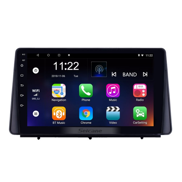 HD Touchscreen 9 inch Android 10.0 GPS Navigation Radio for 2019 Ford Focus with Bluetooth AUX Music support DVR Carplay Steering Wheel Control
