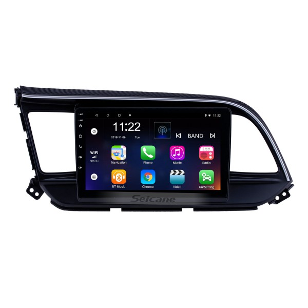 Android 10.0 9 inch Touchscreen GPS Navigation Radio for 2019 Hyundai Elantra LHD with USB WIFI Bluetooth AUX support Carplay SWC Rearview camera