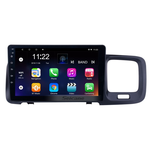 HD Touchscreen 9 inch Android 10.0 GPS Navigation Radio for 2019 Volvo S60 with Bluetooth AUX WIFI support Carplay TPMS DAB+ OBD2