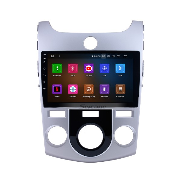9 inch Android 10.0 GPS navigation system for 2008-2012 KIA FORTE(MT) with  Radio Bluetooth HD 1024*600 touch screen OBD2 DVR Rearview camera TV 1080P Video 3G WIFI USB SD Steering Wheel Control Mirror link
