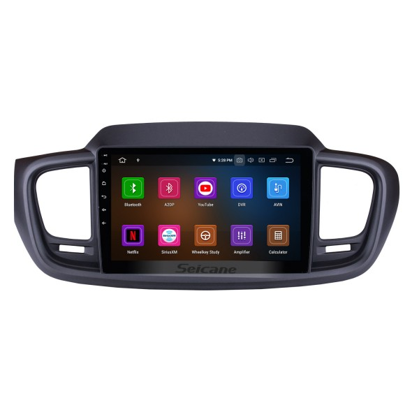 9 Inch Android 10.0 GPS navigation system Radio for 2015 2016 Kia Sorento with Mirror link HD 1024*600 touch screen OBD2 DVR Rearview camera TV 1080P Video 3G WIFI Steering Wheel Control Bluetooth USB