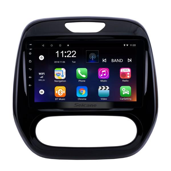 2011-2016 Renault Captur CLIO Samsung QM3 Manual A/C 9 inch Android 10.0 Radio GPS Navigation Bluetooth WIFI USB AUX Steering Wheel Control DVR TPMS 3G OBD