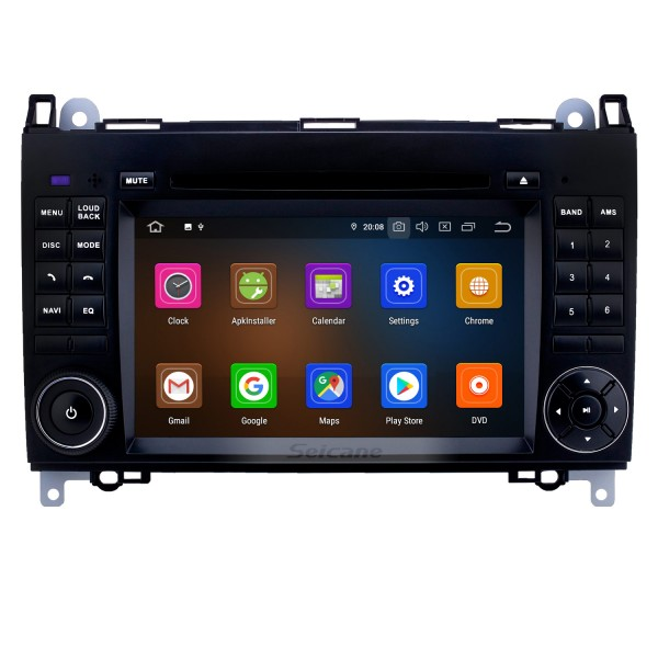 7 inch Android 10.0 GPS Navigation Radio for 2000-2015 VW Volkswagen Crafter with HD Touchscreen Carplay Bluetooth WIFI support OBD2 SWC