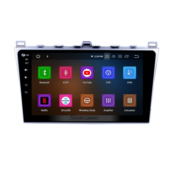 Android 10.0 GPS Radio navigation system for 2008-2015 MAZDA 6 Rui wing Bluetooth Mirror link multi-touch screen OBD DVR Rearview camera TV USB WIFI