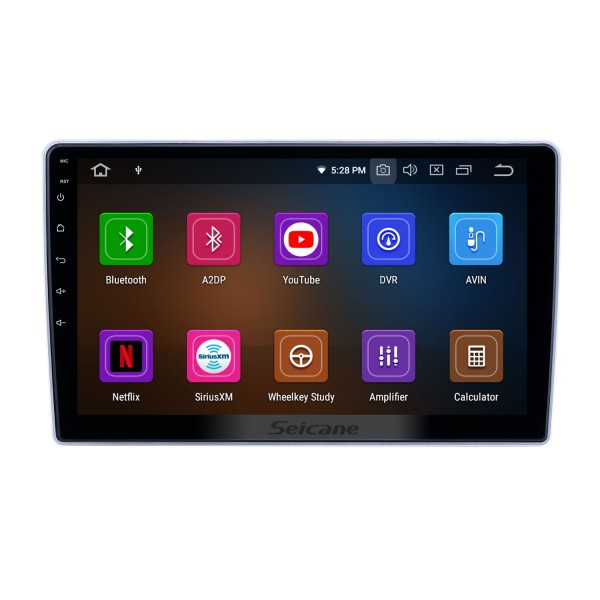 10.1 inch Android 10.0 GPS Navigation Radio for 2004-2013 Nissan Paladin with HD Touchscreen Carplay AUX Bluetooth support 1080P
