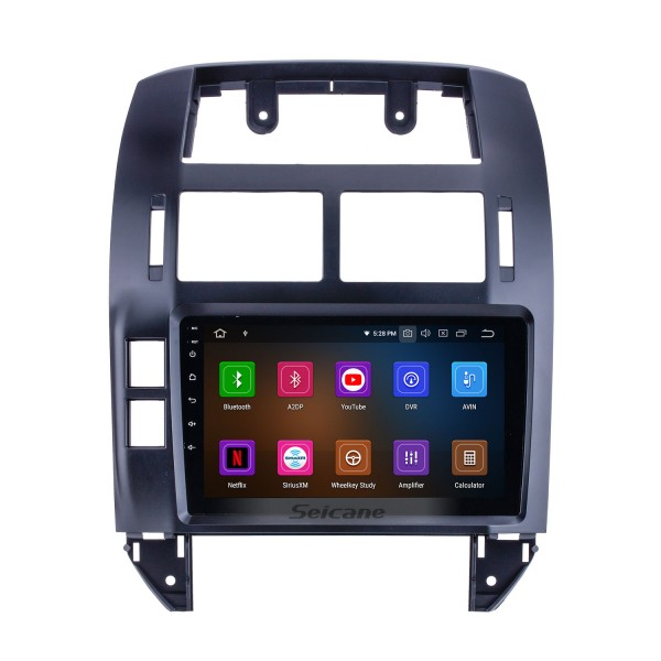 9 inch For 2004 2005 2006-2011 VW Volkswagen Polo Radio Android 10.0 GPS Navigation System Bluetooth HD Touchscreen Carplay support OBD2
