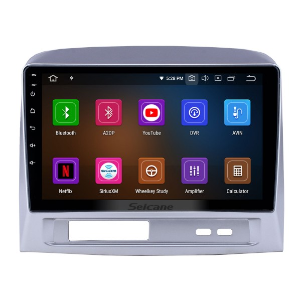 Android 10.0 9 inch GPS Navigation Radio for 2004 Toyota Vios with HD Touchscreen Carplay Bluetooth WIFI USB AUX support Mirror Link OBD2 SWC