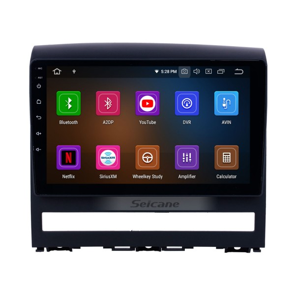 2009 Fiat Perla Android 10.0 9 inch GPS Navigation Radio Bluetooth HD Touchscreen USB Carplay support DVR DAB+ OBD2 SWC