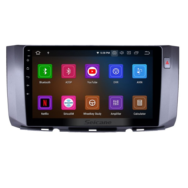HD Touchscreen 2010-2017 Toyota ALZA Android 10.0 10.1 inch GPS Navigation Radio Bluetooth USB Carplay WIFI AUX support DAB+ OBD2 Steering Wheel Control
