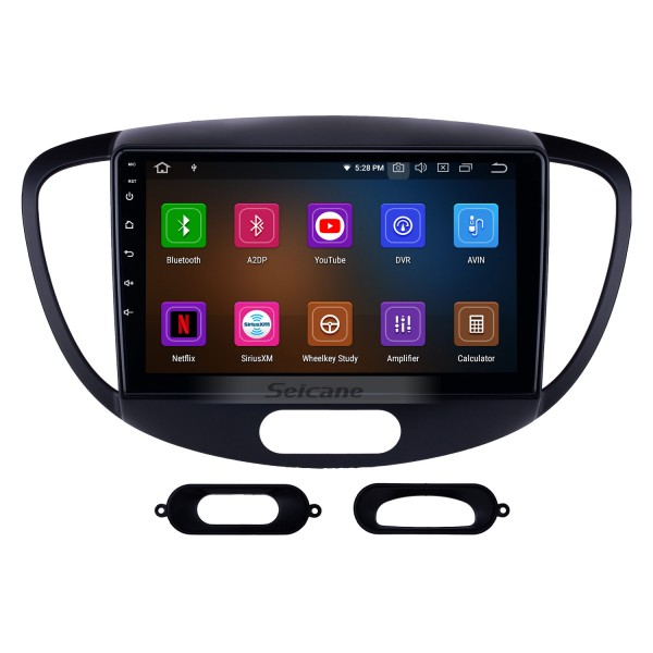 HD Touchscreen 2010-2013 Old Hyundai i20 Android 10.0 9 inch GPS Navigation Radio Bluetooth USB Carplay WIFI AUX support DAB+ Steering Wheel Control