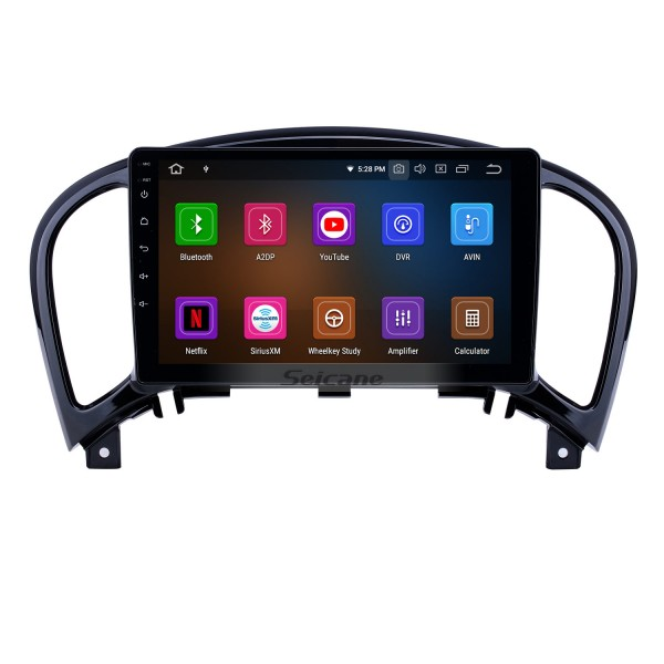 9 inch Android 10.0 GPS Navigation Radio for 2011-2016 Nissan Infiniti ESQ/Juke with HD Touchscreen Carplay AUX Bluetooth support 1080P