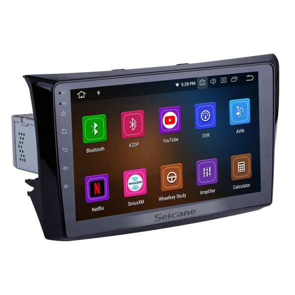 For 2011 Changan Alsvin V3 Radio 9 inch Android 10.0 HD Touchscreen Bluetooth with GPS Navigation System Carplay support 1080P Video