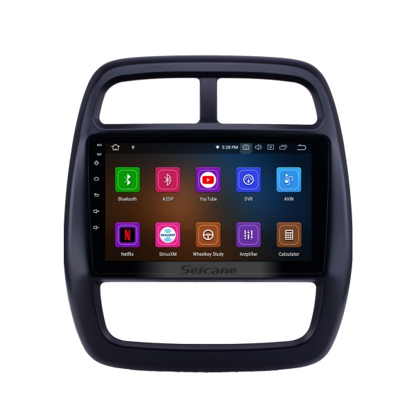 OEM 9 inch Android 10.0 Radio for 2012-2017 Renault Kwid Bluetooth HD Touchscreen GPS Navigation Carplay support Rearview camera