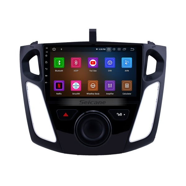 9 inch 2012 2015 Ford Focus 1024*600 Touch Screen GPS Navigation System Android 5.0.1 with Touch Screen Bluetooth Music USB OBD2 AUX RDS Backup Camera Digital TV DVR Steering Wheel Control