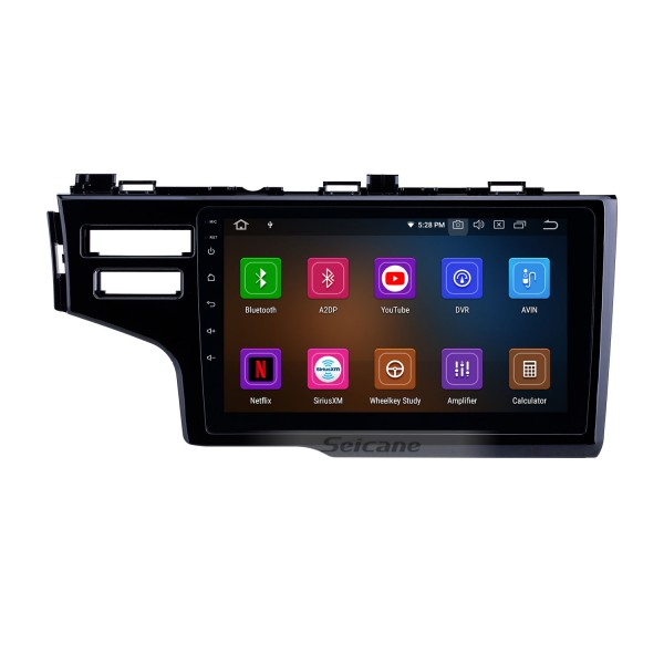 OEM 9 inch Android 10.0 for 2013-2015 Honda Fit LHD Bluetooth HD Touchscreen GPS Navigation Radio Carplay support TPMS Digital TV