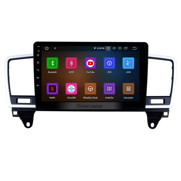 Android 10.0 For 2014 2015 Mercedes Benz ML Radio 9 inch GPS Navigation System Bluetooth HD Touchscreen USB Carplay support DVR SWC