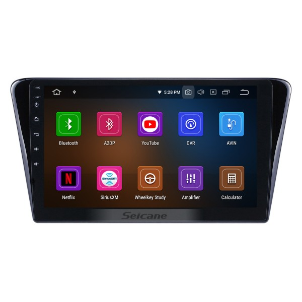 HD Touchscreen 10.1 inch Android 10.0 GPS Navigation Radio for 2014 Peugeot 408 with Bluetooth wifi USB Carplay support DVR DAB+ Steering Wheel Control