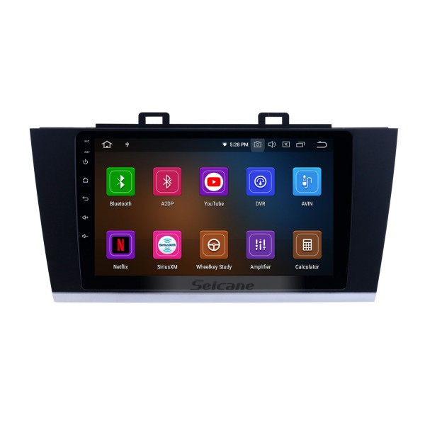 OEM 9 inch Android 10.0 Radio for 2015-2018 Subaru Legacy Bluetooth HD Touchscreen GPS Navigation Music AUX Carplay support TPMS