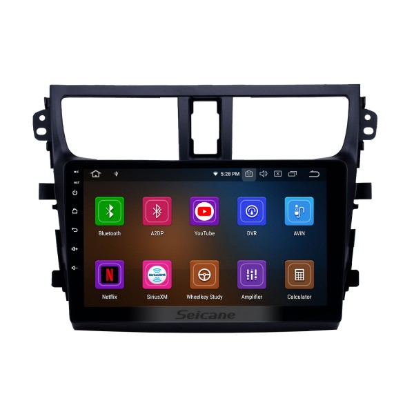 2015-2018 Suzuki Celerio Android 10.0 9 inch GPS Navigation Radio Bluetooth HD Touchscreen USB Carplay support Digital TV DAB+
