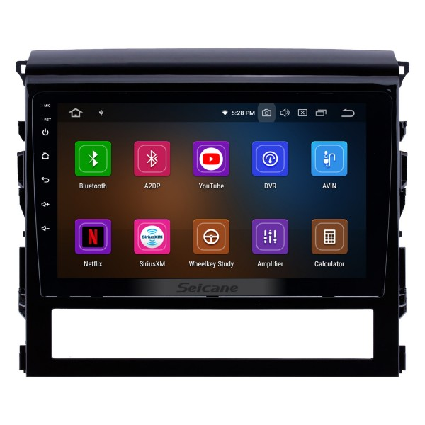 9 inch Android 10.0 Radio for 2015-2018 Toyota Land Cruiser with GPS Navigation HD Touchscreen Bluetooth Carplay Audio System support OBD2 Rearview camera