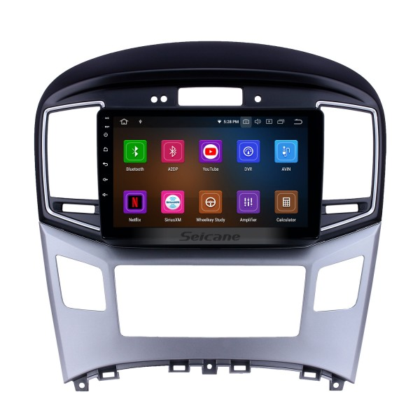 2015 Hyundai Starex H1 Android 10.0 9 inch GPS Navigation Radio Bluetooth HD Touchscreen WIFI USB AUX Carplay support TPMS SWC