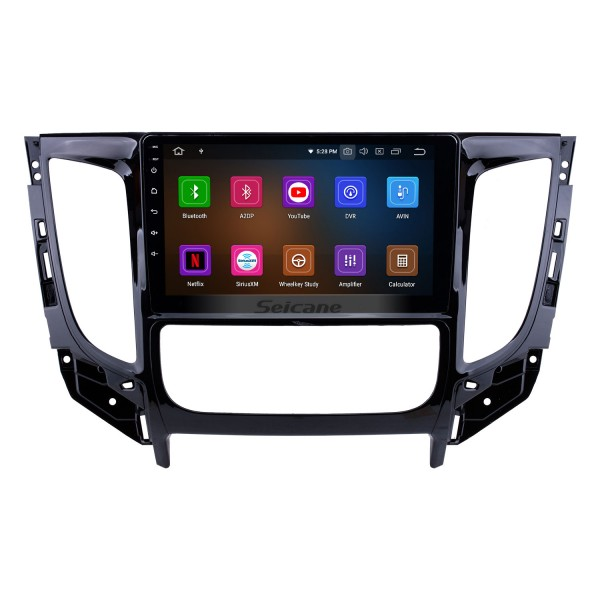 All in one Android 10.0 9 inch 2015 MITSUBISHI TRITON Auto A/C Radio with GPS Navigation Touchscreen Carplay Bluetooth USB support Mirror Link 1080P
