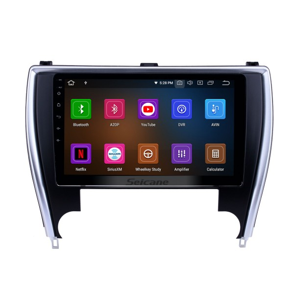 10.1 inch Android 10.0 Radio for 2015 Toyota Camry(America version) Bluetooth HD Touchscreen GPS Navigation Carplay support TPMS DAB+
