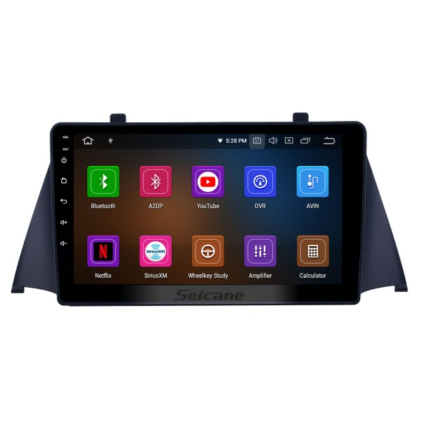 Android 10.0 9 inch GPS Navigation Radio for 2015 Zotye Domy x5 with HD Touchscreen Carplay USB Bluetooth support DVR DAB+