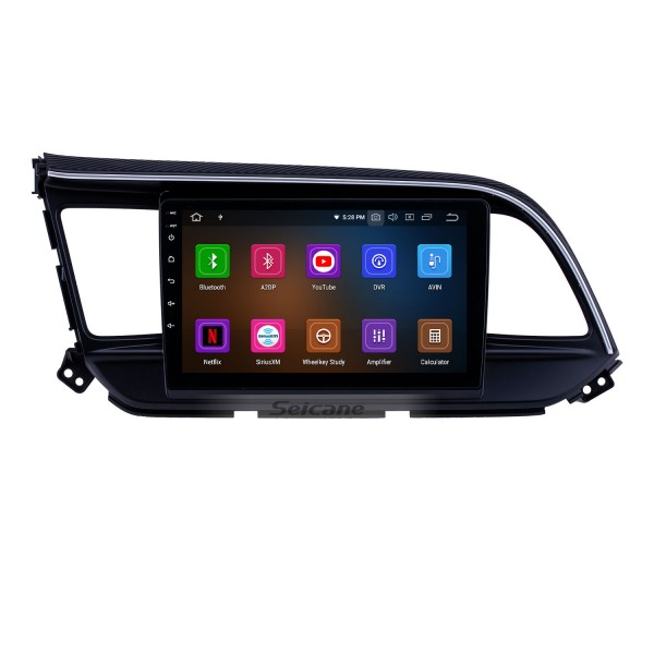 Android 10.0 9 inch GPS Navigation Radio for 2016 Hyundai Elantra LHD Head Unit Stereo with Carplay Bluetooth WIFI USB AUX support DVR Steering wheel control