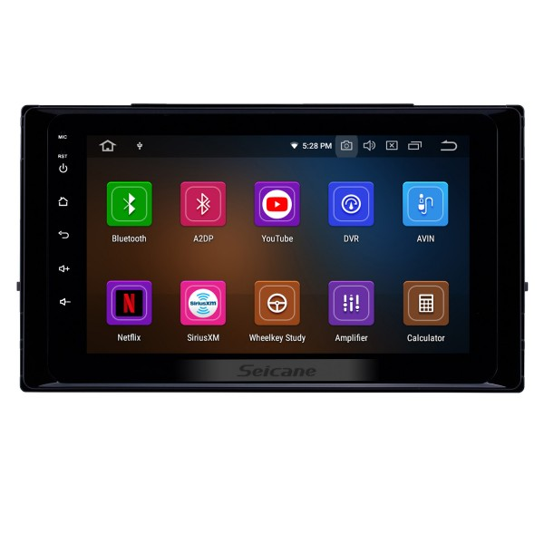 8 inch Android 10.0 GPS Navigation Radio for 2017 2018 2019 Toyota Corolla with HD Touchscreen Carplay Bluetooth WIFI USB support Mirror Link OBD2 SWC