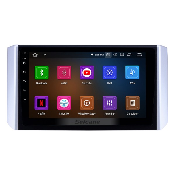 9 inch Android 10.0 Radio for 2017-2018 Mitsubishi Xpander with GPS Navigation HD Touchscreen Bluetooth Carplay Audio System support Rearview camera DAB+