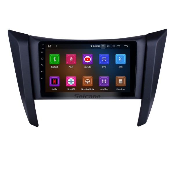 OEM 9 inch Android 10.0 Radio for 2017-2018 Nissan Navara/NP300/Frontier Bluetooth HD Touchscreen GPS Navigation Carplay support TPMS