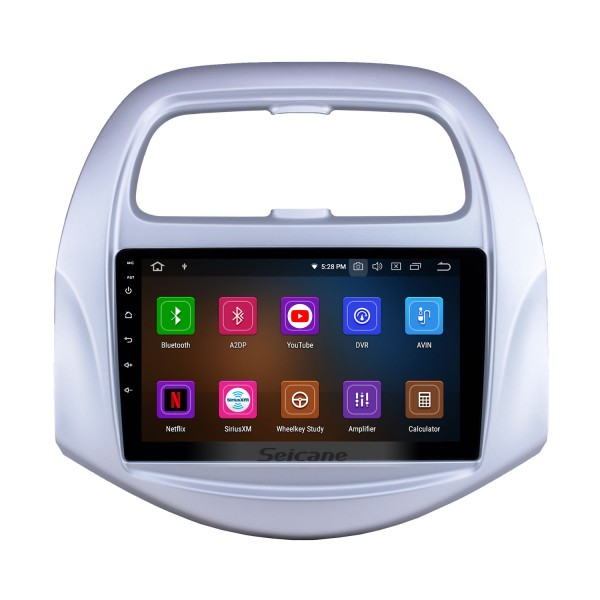 OEM 9 inch Android 10.0 Radio for 2018-2019 Chevy Chevrolet Spark Bluetooth Wifi HD Touchscreen GPS Navigation Carplay USB support Digital TV TPMS