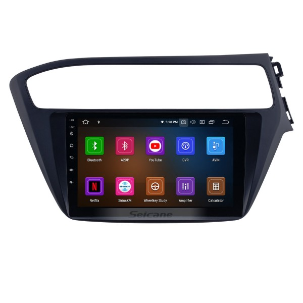 9 inch Android 10.0 Radio for 2018-2019 Hyundai i20 RHD with GPS Navigation HD Touchscreen Bluetooth Carplay Audio System support Rearview camera TPMS