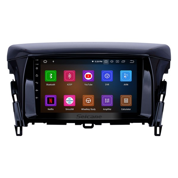 2018 Mitsubishi Eclipse Android 10.0 9 inch GPS Navigation Radio Bluetooth HD Touchscreen USB Carplay support Digital TV DAB+