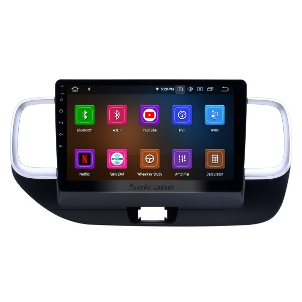 10.1 inch Android 10.0 GPS Navigation Radio for 2019 Hyundai Venue RHD with HD Touchscreen Carplay AUX Bluetooth support 1080P