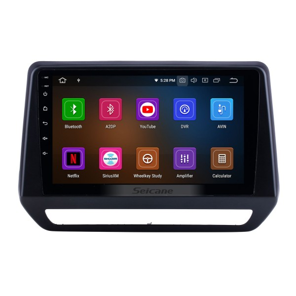 Android 10.0 For 2019 Renault Triber Radio 9 inch GPS Navigation Bluetooth HD Touchscreen USB Carplay support DVR DAB+ OBD2 SWC