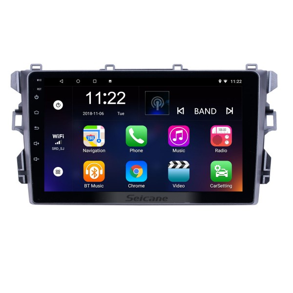 OEM 9 inch Android 10.0 Radio for BYD G3 Bluetooth AUX Music HD Touchscreen GPS Navigation support Carplay Rear camera TPMS DVR OBD