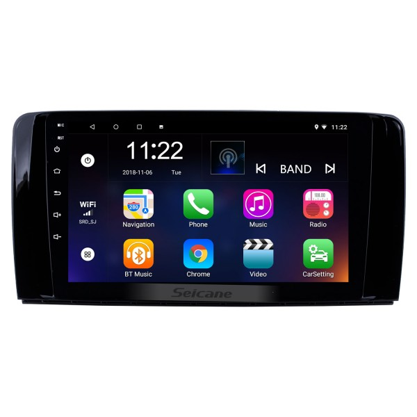 OEM Android 5.1.1 Radio GPS   navigation system for 2006-2014 Mercedes Benz R Class W251 R280 R300 R320 R350 R63 with DVD player Bluetooth HD 1024*600 touch screen IPOD OBD2 DVR Rearview camera TV 1080P Video 3G WIFI Steering Wheel Control USB SD