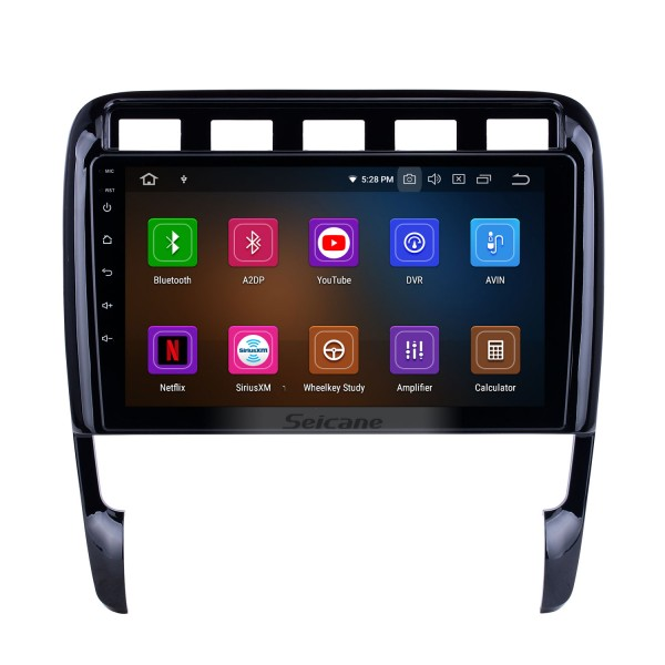 9 inch For Porsche Old Cayenne Radio Android 10.0 GPS Navigation System with HD Touchscreen Bluetooth Carplay support Backup camera