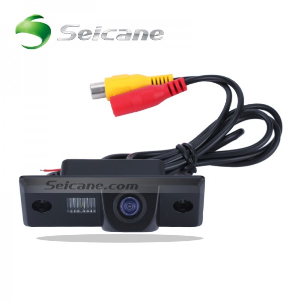 Waterproof Car Reverse Rearview Camera For Touareg/Old Passat/Polo/Tiguan/Skoda Fabia PC1030 CMOS Sensor+PAL/NTSC+no need to drill hole
