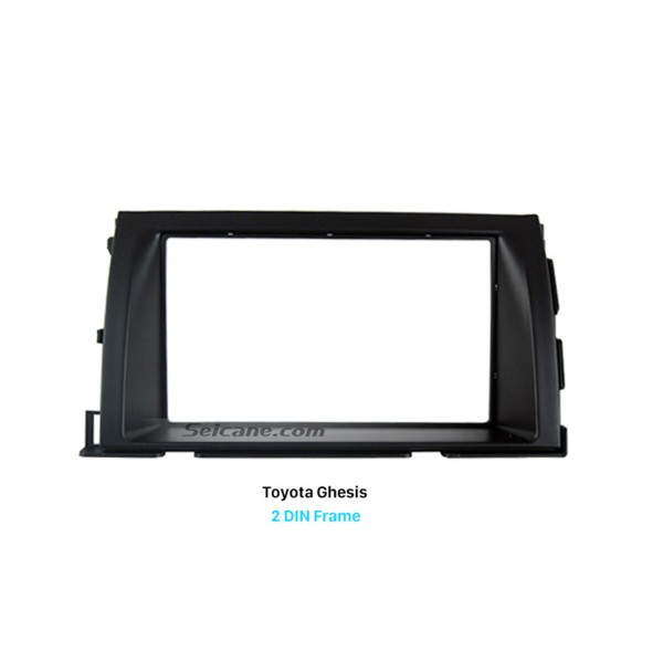 Good-looking Double Din Toyota Ghesis Car Radio Fascia Trim Installation Frame Dash Kit Surround Panel