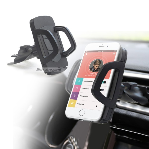 Car Multi-function 360 Degree Rotation Adjustable Universal Mobile Phone Holder Air Vent Mount Holder