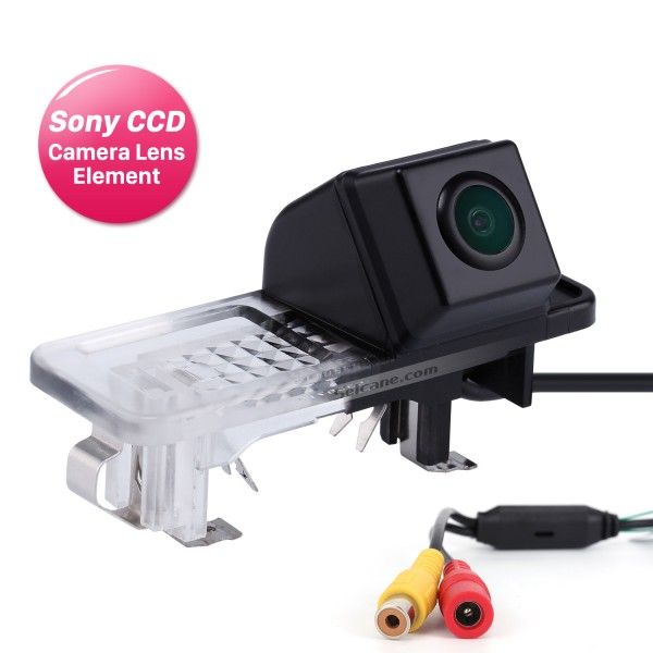 HD SONY CCD 600 TV Lines Wired Car Parking Backup Reversing Camera for 2008-2013 Mercedes-Benz SMART Waterproof Night Vision free shipping