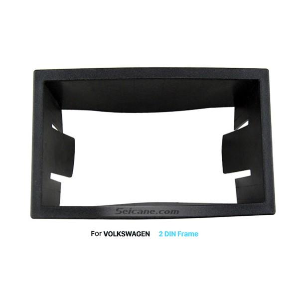 173*98mm Double Din Volkswagen Car Radio Fascia DVD GPS Dashboard Panel Frame Trim Installation Kit