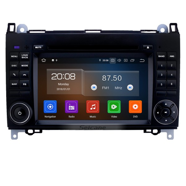 9 inch Android 10.0 GPS Navigation Radio for 2000-2015 VW Volkswagen Crafter Mercedes Benz Viano / Vito /B Class B55 /Sprinter /A Class A160 with Bluetooth WiFi Touchscreen support Carplay DVR