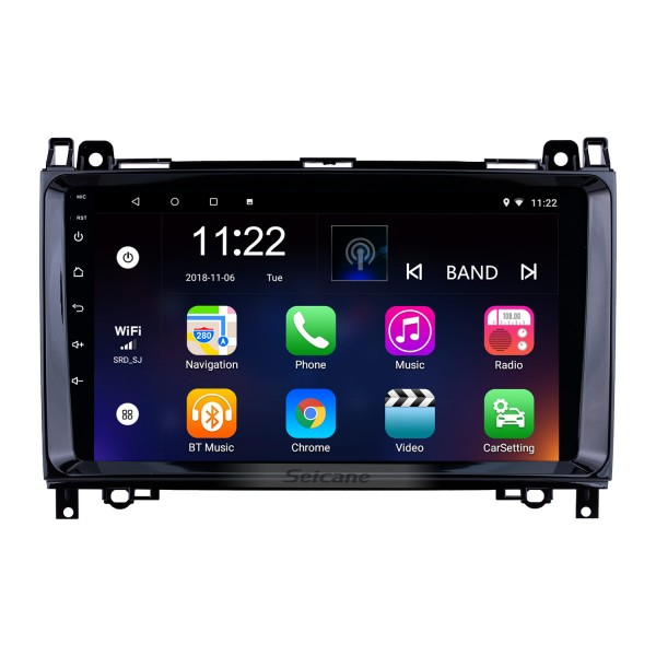 9 inch Android 10.0 GPS Navigation Radio for 2000-2015 VW Volkswagen Crafter Mercedes Benz Viano / Vito /B Class W245 /Sprinter /A Class W169 with Bluetooth WiFi Touchscreen support Carplay DVR