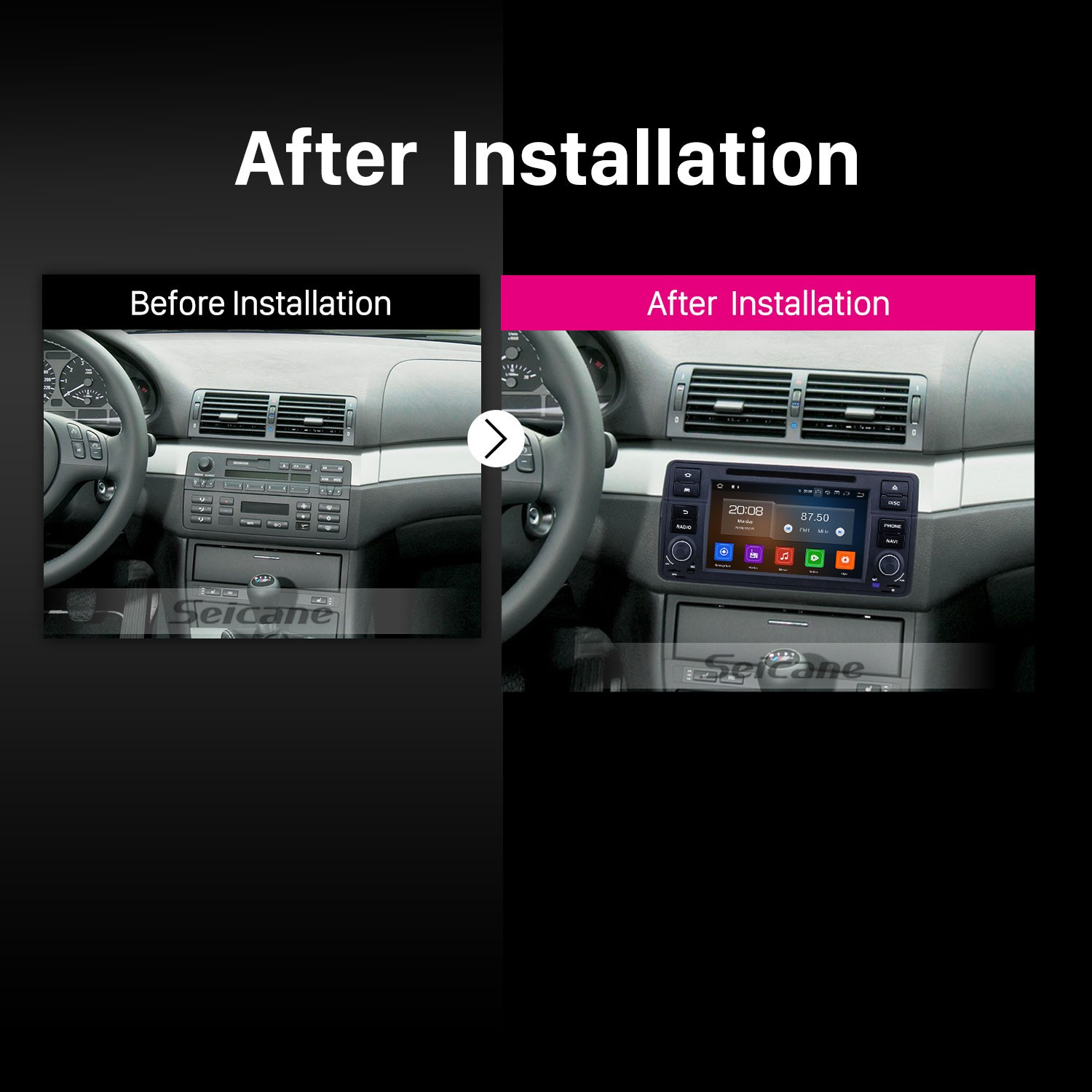 7 Inch Android 9 0 Gps Navigation Radio For 1998